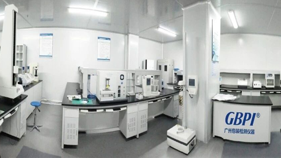 packaging material lab testing