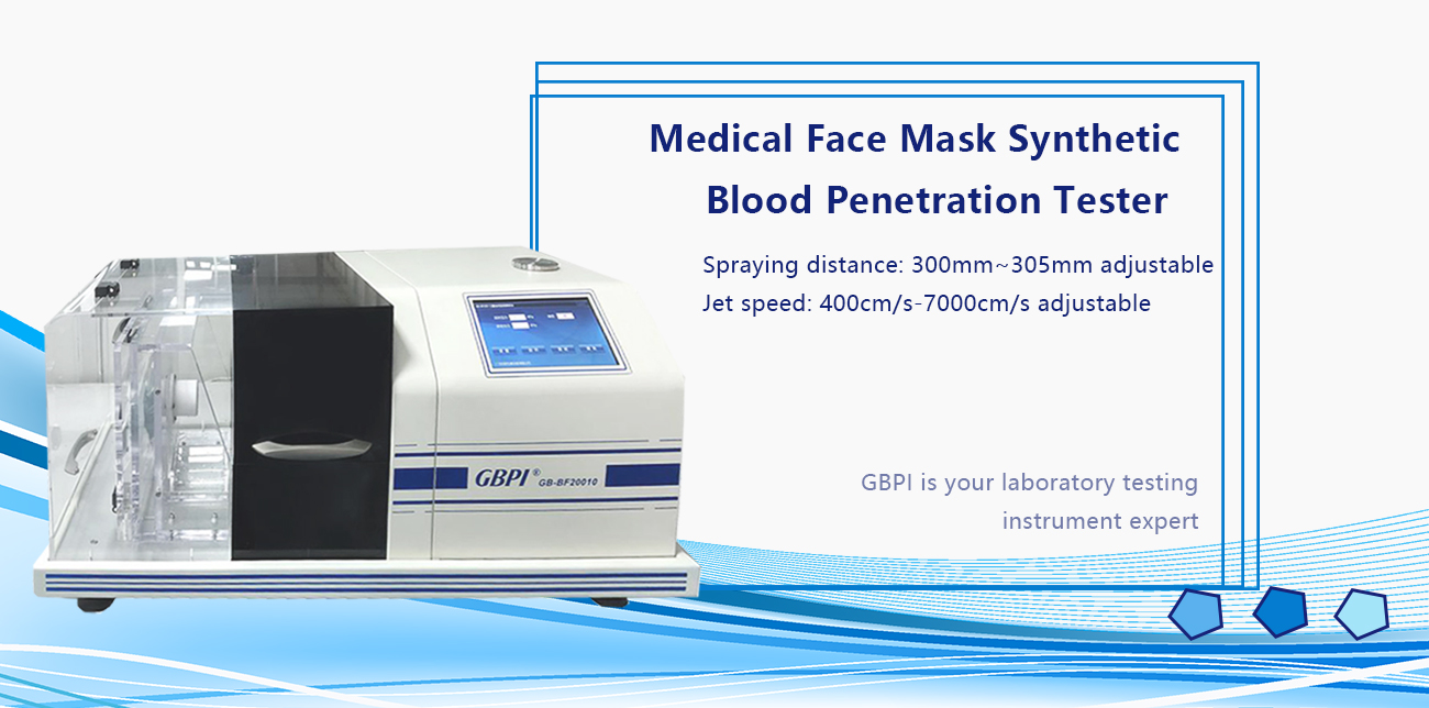Medical Face Mask Synthetic Blood Penetration Tester