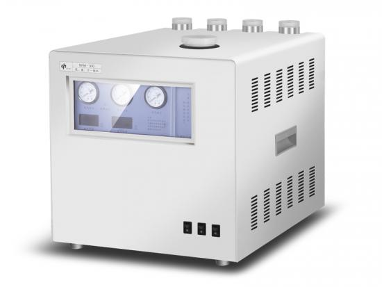 High purity nitrogen hydrogen and air gas generator for gas chromatography