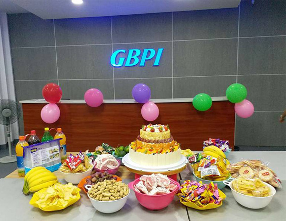 Company Culture-GBPI Third Quarter Employee Birthday Party